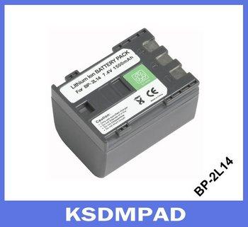 Xmas promotion 25% discount digital camera batteries compatible with Elura 60 Elura 65 Elura 70  for Canon BP-2L14 BP 2L14