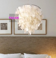 Diameter 40cm Newly Creative natural shell pendant lamp/ pendant lighting Free shipping