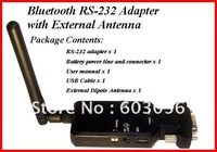5pcs/lot High quaitly RS232 100M Bluetooth Serial adapter,Bluetooth V2.1+EDR SPP profile