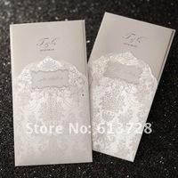 Free customized printing, wedding invitation card, CW1010, Wedding favors , free shipping