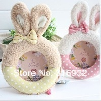 J7 Le sucre rabbit lovers plush photo frame, good gift, 1 PC