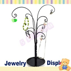 Free Shipping Earrings Jewelry Pendant Tree Organizer Display Stand Holder Home 964(China (Mainland))