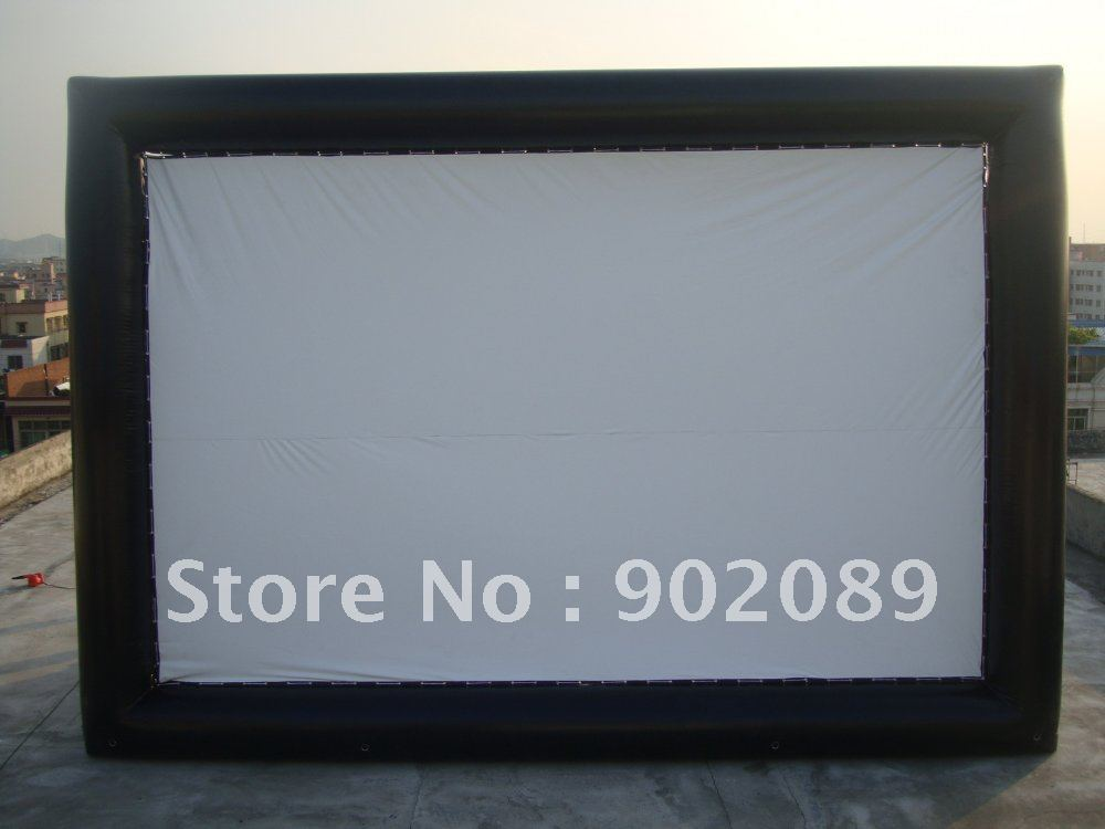 outdoor inflatable movie screen /air tight seal movie(China (Mainland))