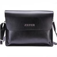Zefer casual briefcase man shoulder bag,free shipping