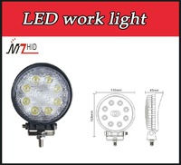 High quality High lumen 24W led work light auto light bulbs
