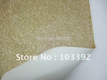 Free shipping PU glitter leatjer fabric S1001
