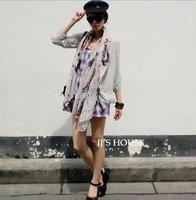 2012 Autumn&Winter Scarves & Wraps fashion fashion print /street style muffler/fashion voile Scarves/ big size 10pcs