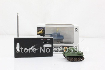 free shipping  777-215 4CH Infrared Mini RC Tank  with LED Light for Children gift toy
