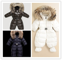 2012 children's down coat,baby down coat coverall romper,newborn down coat 4 colors