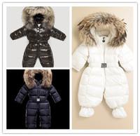 2012 children's down coat,baby down coat coverall romper,newborn down coat 4 colors
