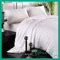 Free Shipping 100% Mulberry Silk Filled Quilt Duvet Comforter Super King 1kg 4 Tog For Summer White