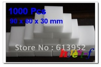 [Free Shipping][Wholesale] 1000 Pcs  MAGIC SPONGE ERASER CLEANING MELAMINE FOAM CLEANER 90 X 60 X 30MM