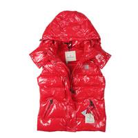 2012 top quality promotion wholesale kids Down vest children's clothing down vest girls boys down vest waistcoat red unisex