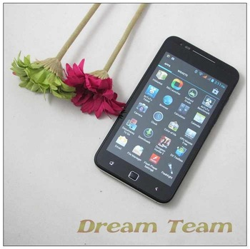 "4.7""WVGA Capacitive screen mtk6577 dual core 1Ghz haipai x720d android 4.0 system wifi 3G android phone free shipping"