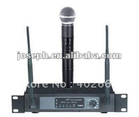 Free shipping~~  J-101 Small Size UHF Wireless microphone with IR