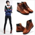 Free Shipping , New Brand Fashion Men's sports shoes ,Fashion Korean style PU Leather Sneakers shoes