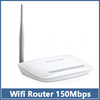 MOQ 1pcs Wifi Router MERCURY MW150R 150Mbps 11N 802.11b/g/n Wireless 4-Port  Lan Broadband  White  free shipping
