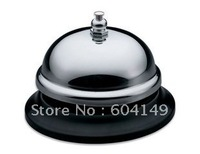 Table Bell Stainless Steel Desk Bell Restaurant Bar Desk Table Service Call Bell 20 pcs/lot Free Shipping by EMS