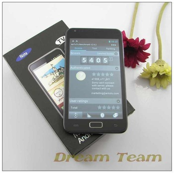 "MTK6575 Android 4.03 OS Star N8000 5"" capacitive screen 3G WCDMA Smart Phone Dual SIM Dual Camera free shipping"