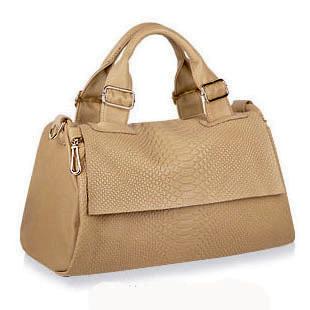 2012 fashion vintage women's handbag serpentine pattern genuine leather flip handbag messenger bag