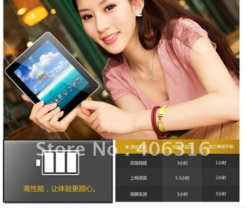 courier shipping ! 9.7'' Original Cube U19GT Dual Core RK3066 IPS 4.0 1G/16G bluetooth dual camera wifi HDM