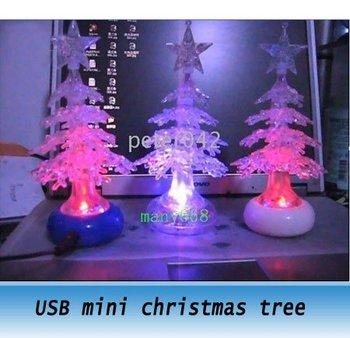 20pcs USB light ,USB Christmas Trees Lamp, Colorful nIght Lamp ,Christmas gifts