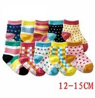10 colors 30pairs/lot -Prints  Baby socks/infant cotton/Kids socks