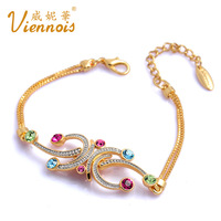 VIENNOIS fashion accessories olympic sports ribbon the trend of fashion ofdynamism bracelet female