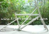 Titanium Minivelo Frame 451 wheel