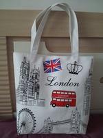 National flag canvas bag eco-friendly bag casual women's handbag