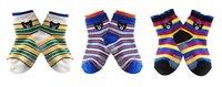 3 deisgns 36 pairs/lot -Bear Modeling Baby Socks/Cartoon Girl's Princess socks