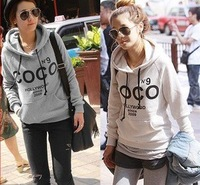 2012 New Fashion style Free shipping women long sleeve hoodie,sweater,hoody for autumn and winter