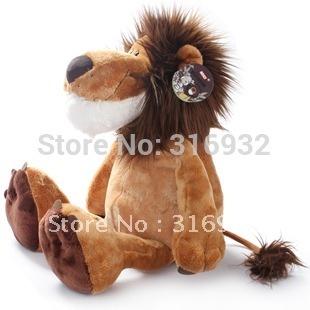 J1 Free shipping, hot sale NICI jungle series lion stuffed plush toy 15CM 25CM 35CM 50CM 70CM 1pc
