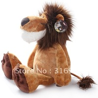 J1 Free shipping, hot sale NICI jungle series lion stuffed plush toy 50cm 1pc