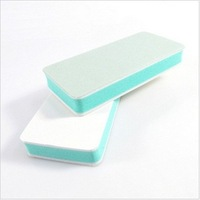 High Quality Double Side Diamond Fancy Nail File Buffer Sanding Washable Manicure Tool, 40pcs/lot + Free Shipping