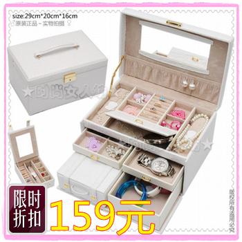 2012 valentine day gift princess jewelry box jewelry box fashion jewelry box display box