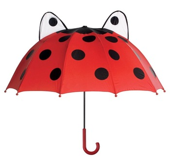 Free shipping Ladybug Designer children umbrella 1pc