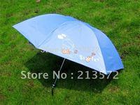 beautiful and portable tri-mini umbrella &cartoon Superfine umbrella for women