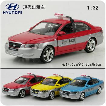 Toy car modern taxi plain WARRIOR alloy model alloy toys cars
