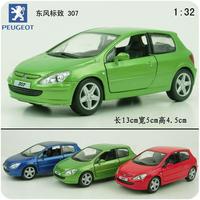 Toy alloy car easterlies pulchritudinous 307 alloy WARRIOR car model toys