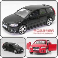 Toy car VOLVO v50 wagon plain alloy WARRIOR cars