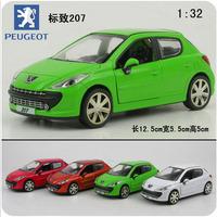 Alloy toy car pulchritudinous 207 plain alloy WARRIOR car alloy model