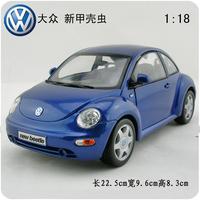 Vw beetle alloy car models new beetle alloy car model blue exquisite gift
