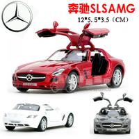 4 soft world kinsmart sls amg alloy car model