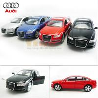 4 soft world kinsmart AUDI audi a6 alloy car model toy car