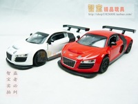 4 AUDI audi r8 cool alloy WARRIOR plain alloy model