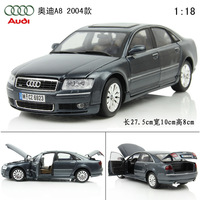 Alloy car models AUDI a8 old a8 AUDI cars exquisite alloy car model