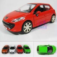 Pulchritudinous 207 car model alloy model plain WARRIOR cars