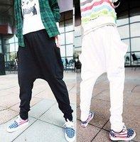 Men's Casual Cone Hip-Hop Harem Pants Sports Shorts M-XL / free shipping