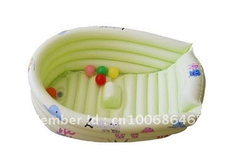 free shipping baby bath inflatable baby pool/inflatable baby bath tub/swiming pool